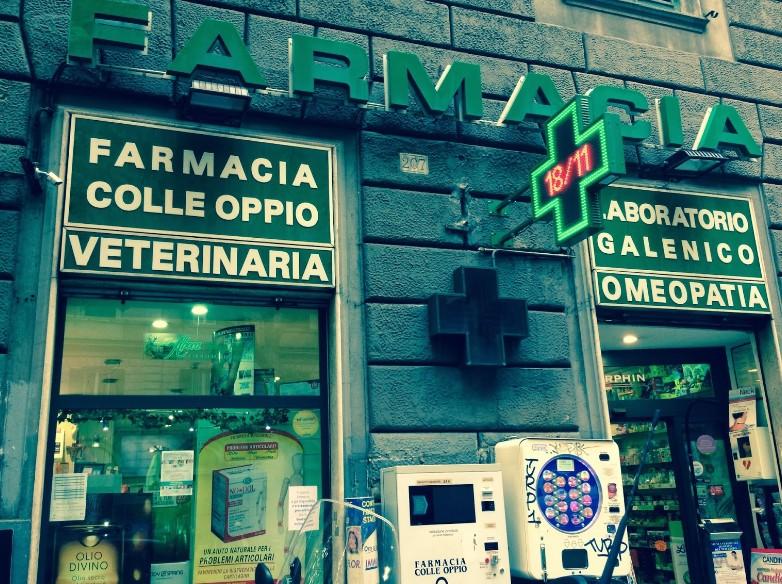 farmacia entrata